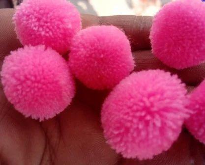 Handwork Pompom, Size: 2 cm