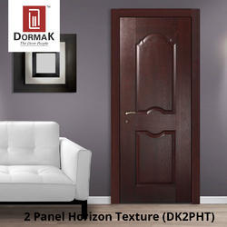 DK-2PHT 2 Panel Horizon Texture Moulded Wooden Door