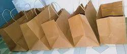 Brown Restaurant Take Away Bags, For Packaging, Capacity: 5kg