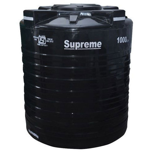Pvc Black Supreme Water Tank Capacity 1000 Ltrs Rs 5000 Piece Id 19744167462