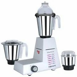 Domestic Use 750 Watts Mixer Grinder Machine, For Wet & Dry Grinding, Capacity(Litre): 2 Lire