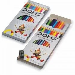 Doms Long Colour Pencils 12 Shades
