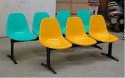 PVC 3 Seater Waiting Chair