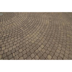 Circular Pattern Paving Blocks