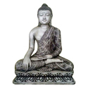 Seated Marble Buddha Statue