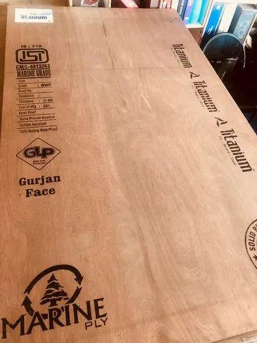 Brown Eucalyptus Titanium ( Plywood Board)