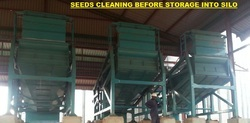 SEED CLEANING  FOR SILO STORAGE