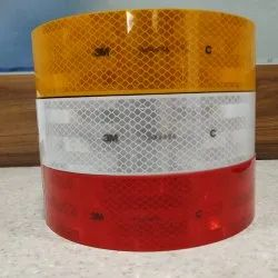 Red Yellow White 3M Conspicuity Tape