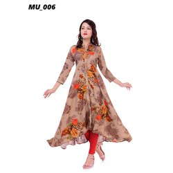 Printed Frock Suit