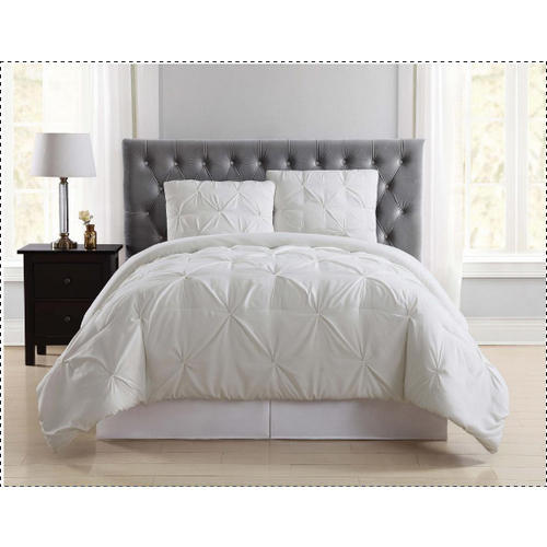 Plated Patch Joining Work In Topper White Duvet Cover Sets Rs 2200