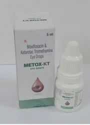 Moxifloxacin 0.5% Ketorolac Tromethamine 0.5% Eye Drop