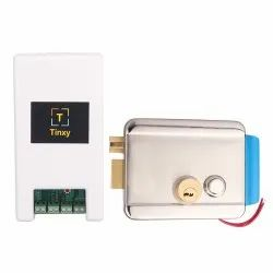 Tinxy Door Lock with WiFi Controller and Door Alarm Sensor (White)