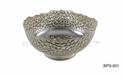 Pure Silver Fancy Punch Bowl