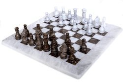 Chess Set Handcrafted Marble Pieces