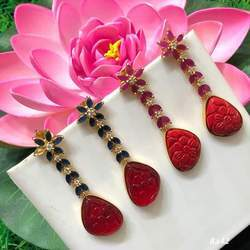 Red Stylish Earring