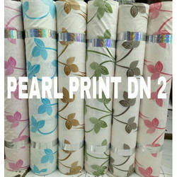 Printed And Designer Printed Curtain Fabric, Use: Curtain
