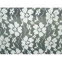 White Raschel Fabric