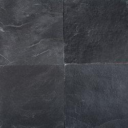 Black Rustic Slate Stone