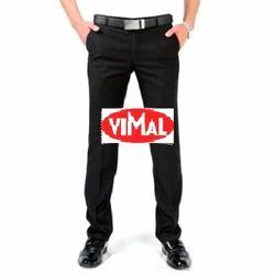 Cotton Multicolor BLACK Formal Pant