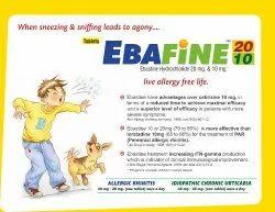 Ebastine 10 mg & 20 mg Tablet
