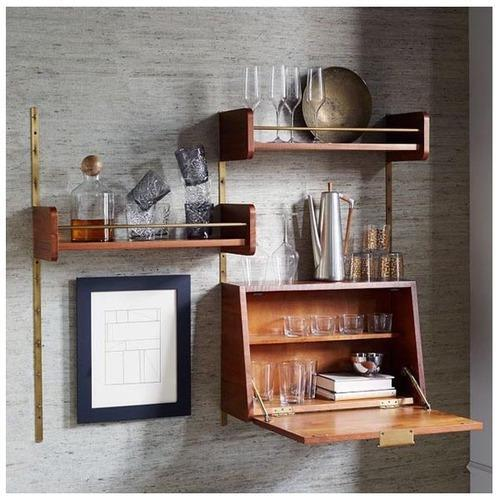 Wall Mounted Bar Unit | House Of Timber | Manufacturer in Sector 24 ...