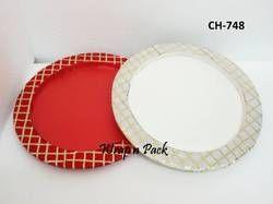 Gota Finish Round Platters