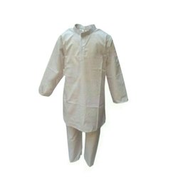Kids White Kurta Pajama Set