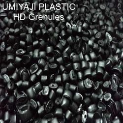 Black Plastic HDPE Grenules, Pipes And Blow Moulding