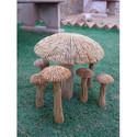 Mushrooms In Trakwood Sandstone