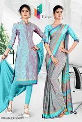 Industrial Uniform Sarees and Salwar kameez Combo