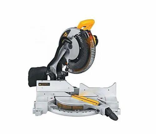 Dewalt DW715 Single Bevel Mitre Saw 305mm, 1600W, 4000 rpm