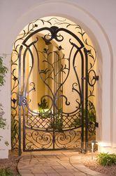 Iron Arched Door