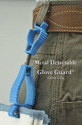 Metal Detectable Glove Clips