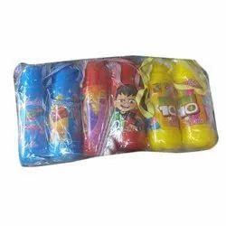 Plastic Child Water Bottle, Screw Cap, Size: 1 Ltr