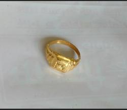 Gents Gold Ring at Rs 2500 /gram   Mens Gold Ring   ID: 14314267388