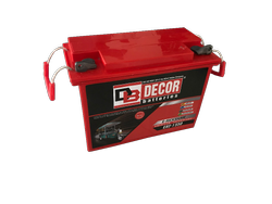 Decor E-Rickshaw Battery, Voltage: 12 V, Capacity: 100 to 130 Ah