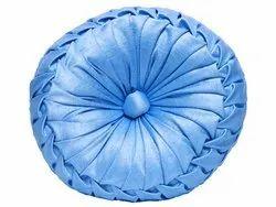 Cornflower Blue Round Cushion 16 x 16