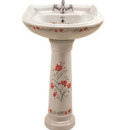 Pedestal Mini Sterling Wash Basin