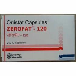 Orlistat Capsules Zerofat 120 mg
