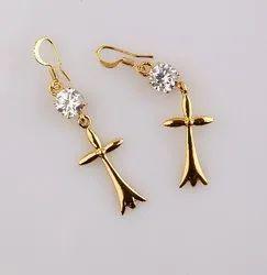 Earing Rings Gold Fashion jewel
