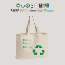 Cotton Tote Bag GRS Recycle