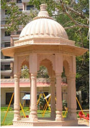 Sand Stone Chhatri In 8 No. Pillars