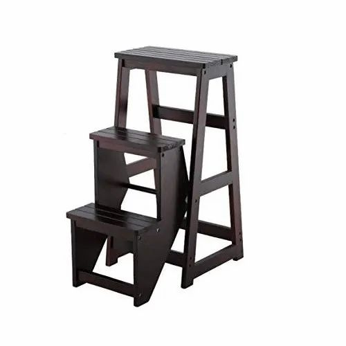 Cool Black Folding Wooden Step Stool Uwap Interior Chair Design Uwaporg