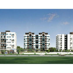 3D Township Visualization Rendering