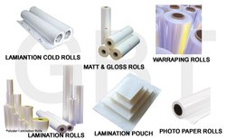 Lamination Rolls & Cut Pouch