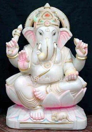 Marble Ganesha Statue Marble Ganesha God Statue Wholesale Trader