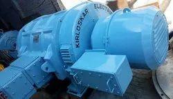 1200 Hp Three Phase Used Industrial Motor