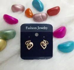 Rose Gold American Diamond Earring