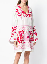 Embroidery Butterfly Kaftan