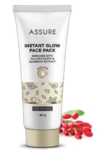 Assure Instant Glow Face Pack At Rs 170 Pack Herbal Face Pack Id 16097460912